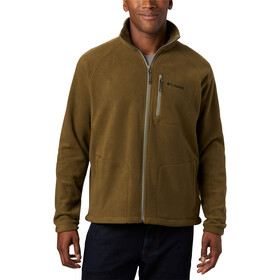 Columbia Fast Trek II Fleece Jack Doorlopende Rits Heren, new olive/sage zip